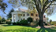Mansions in a magnificent river front estate listed on the National Registry of Historic Places