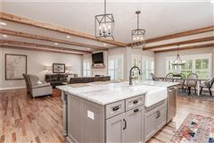 Luxury homes in stunning near new home with wonderful custom features
