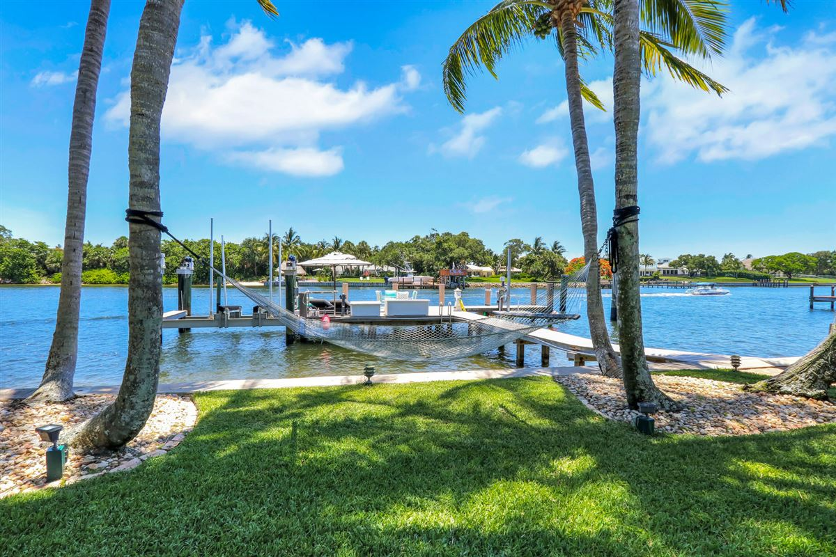 Mansions in Direct Intracoastal waterway Tuscan-style estate home
