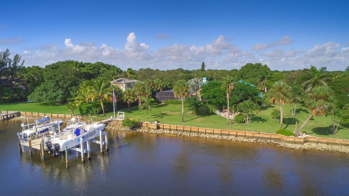 giant lot by South Florida Intracoastal Waterway luxury real estate