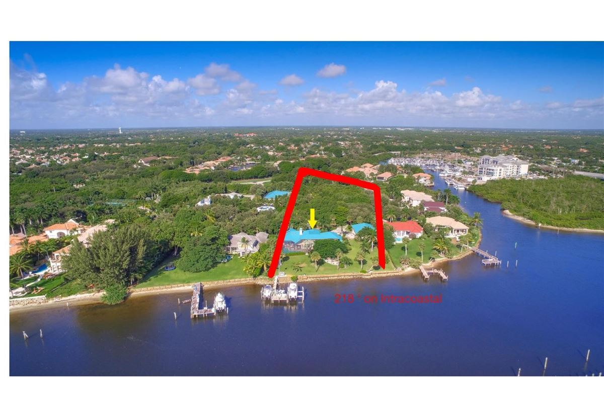 giant lot by South Florida Intracoastal Waterway luxury properties