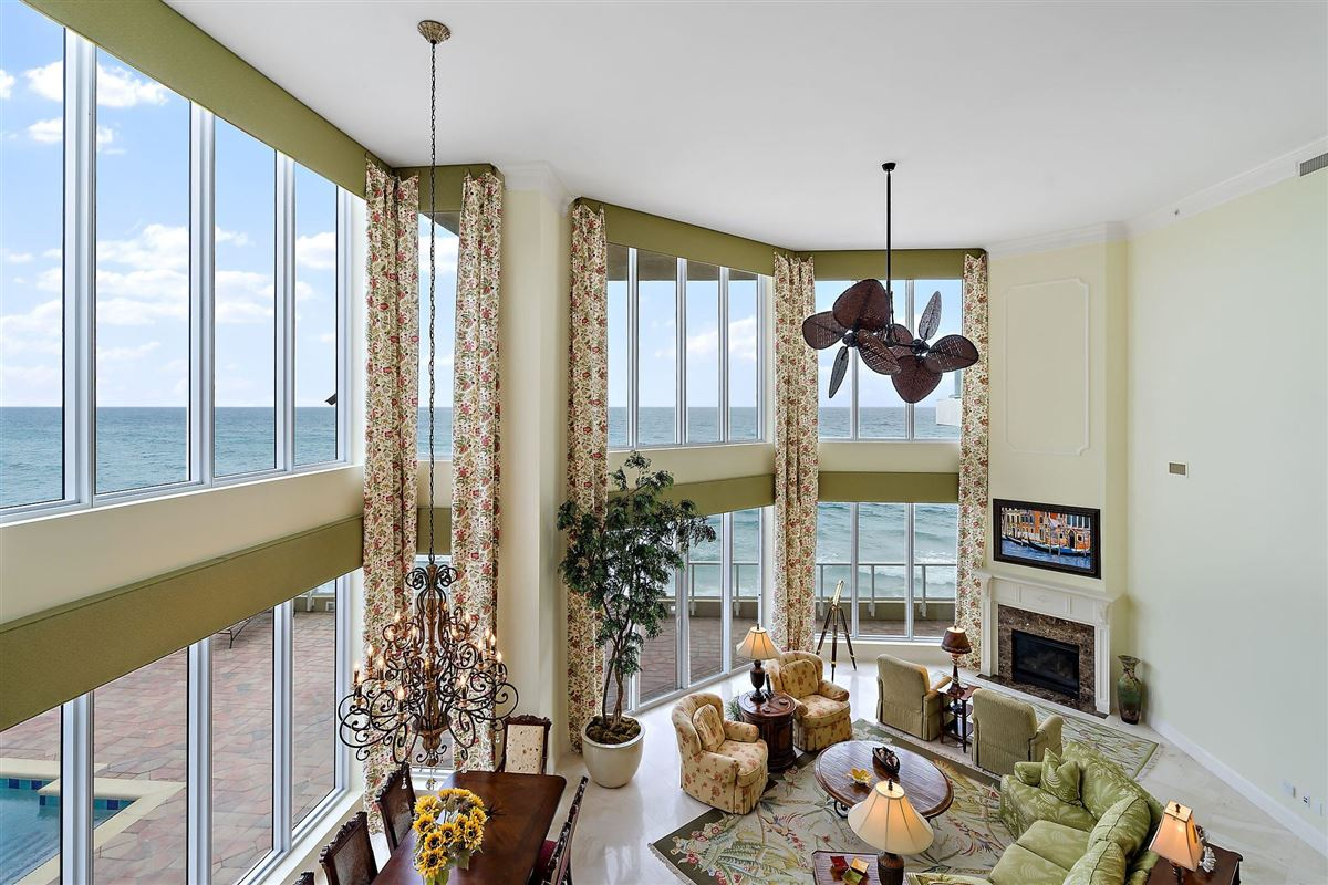 Luxury homes in grand oceanfront residence boasts amazing views