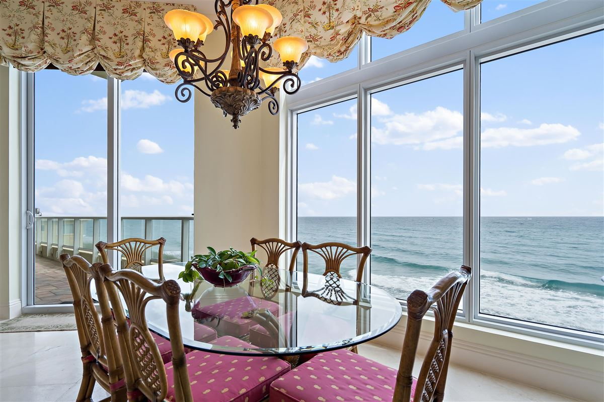 Luxury real estate grand oceanfront residence boasts amazing views