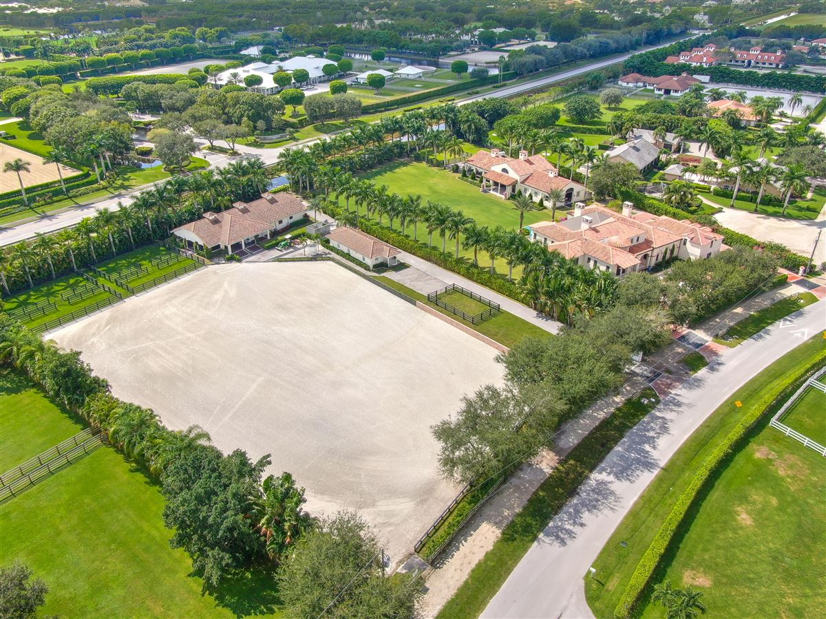 Luxury homes in luxury equestrian compound