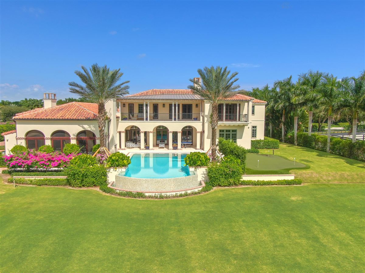 Mansions in luxury equestrian compound