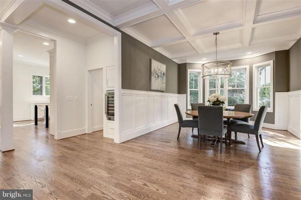 Luxury real estate  light filled new home