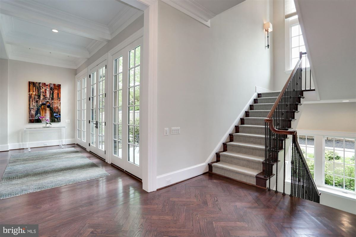 Luxury properties Exquisite French Country Stucco Home in north arlington