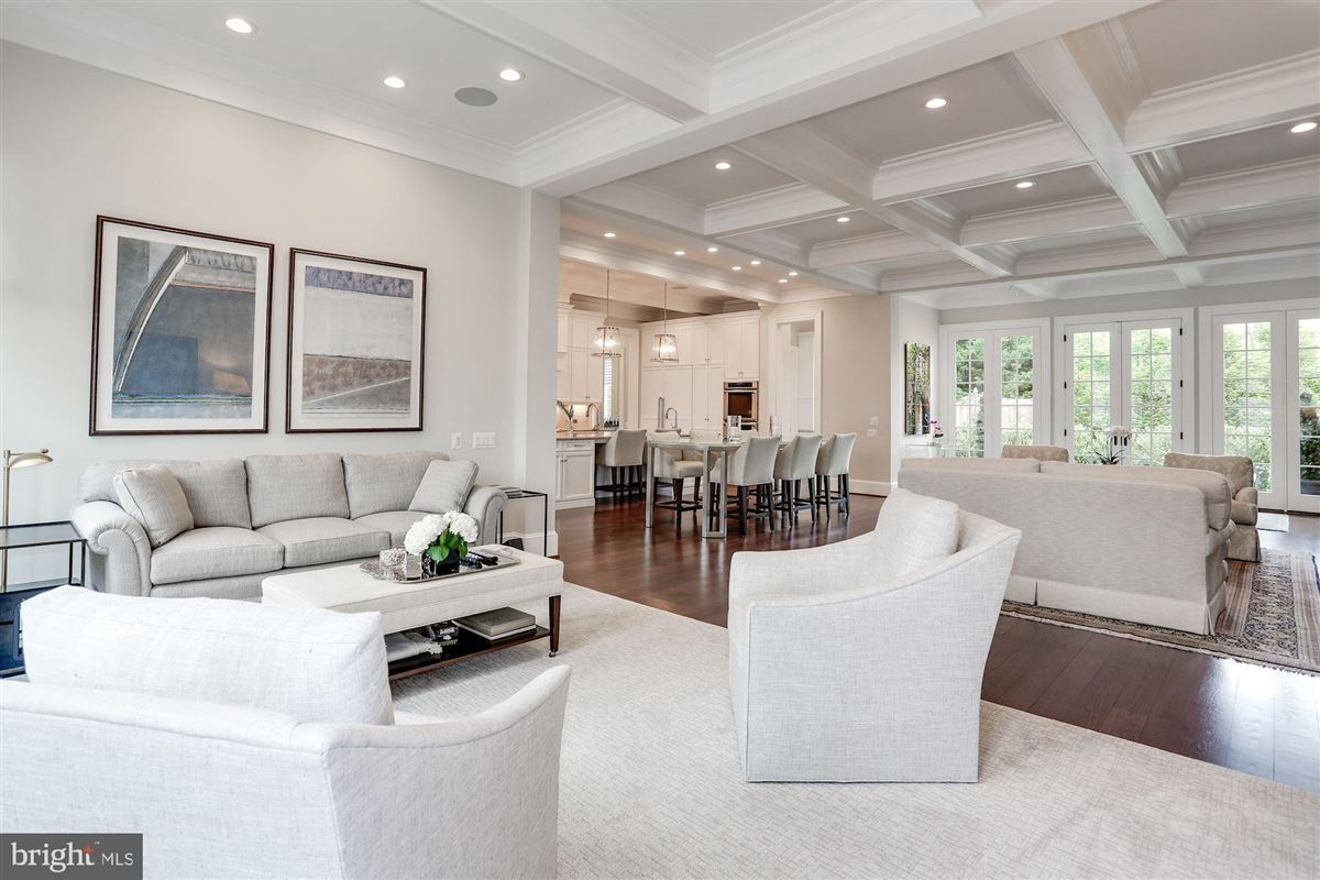 Luxury homes in Exquisite French Country Stucco Home in north arlington