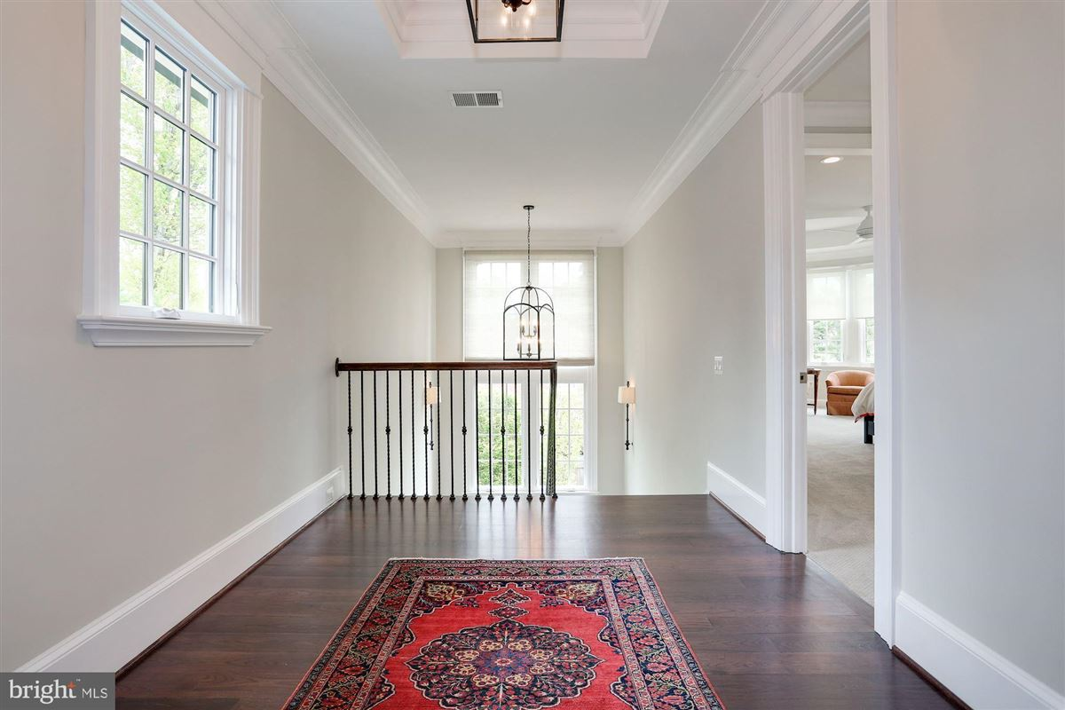 Luxury real estate Exquisite French Country Stucco Home in north arlington