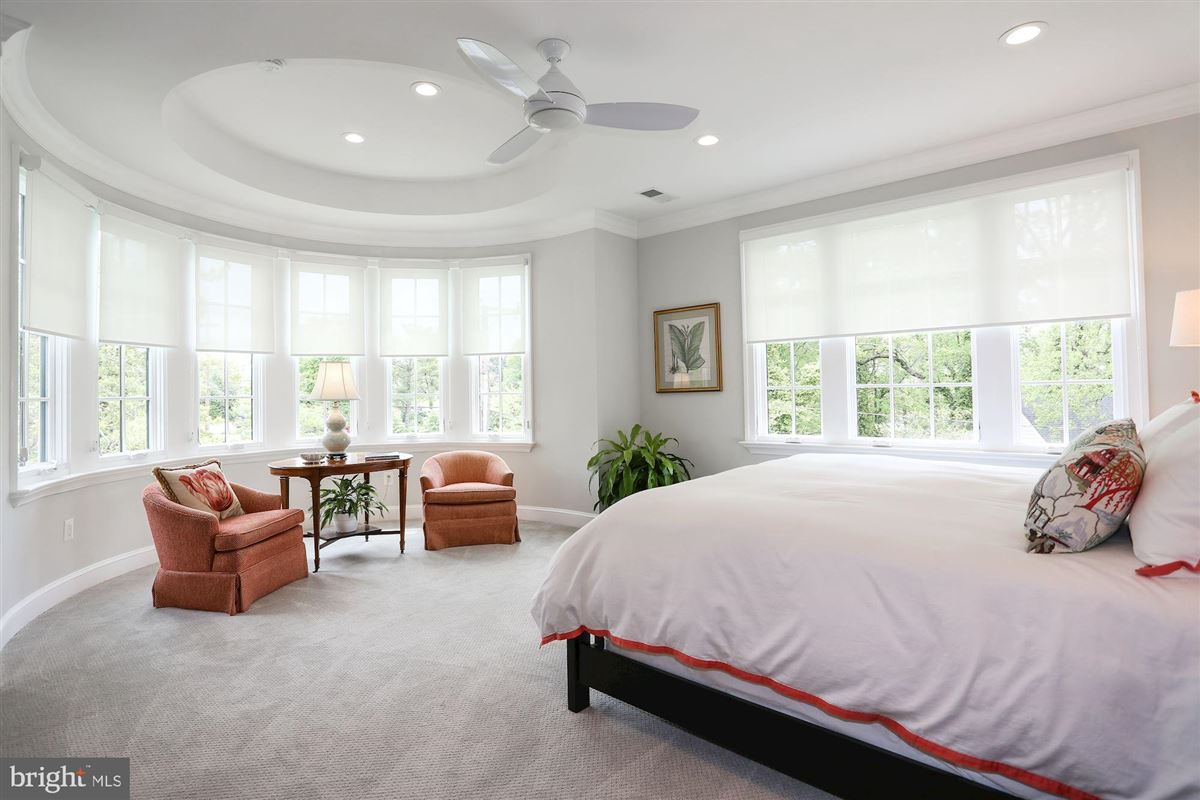 Exquisite French Country Stucco Home in north arlington luxury real estate
