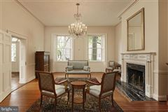 Luxury real estate historic Lafayette House in alexandria