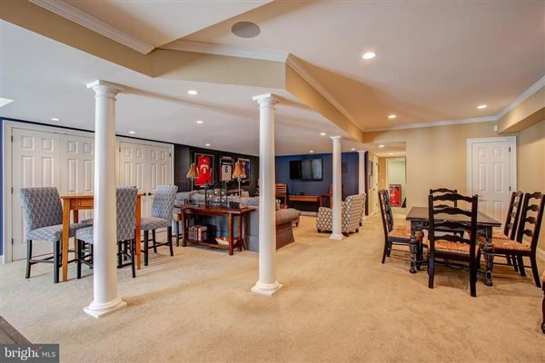 Luxury real estate Gorgeous colonial offers a  large patio and Koi pond