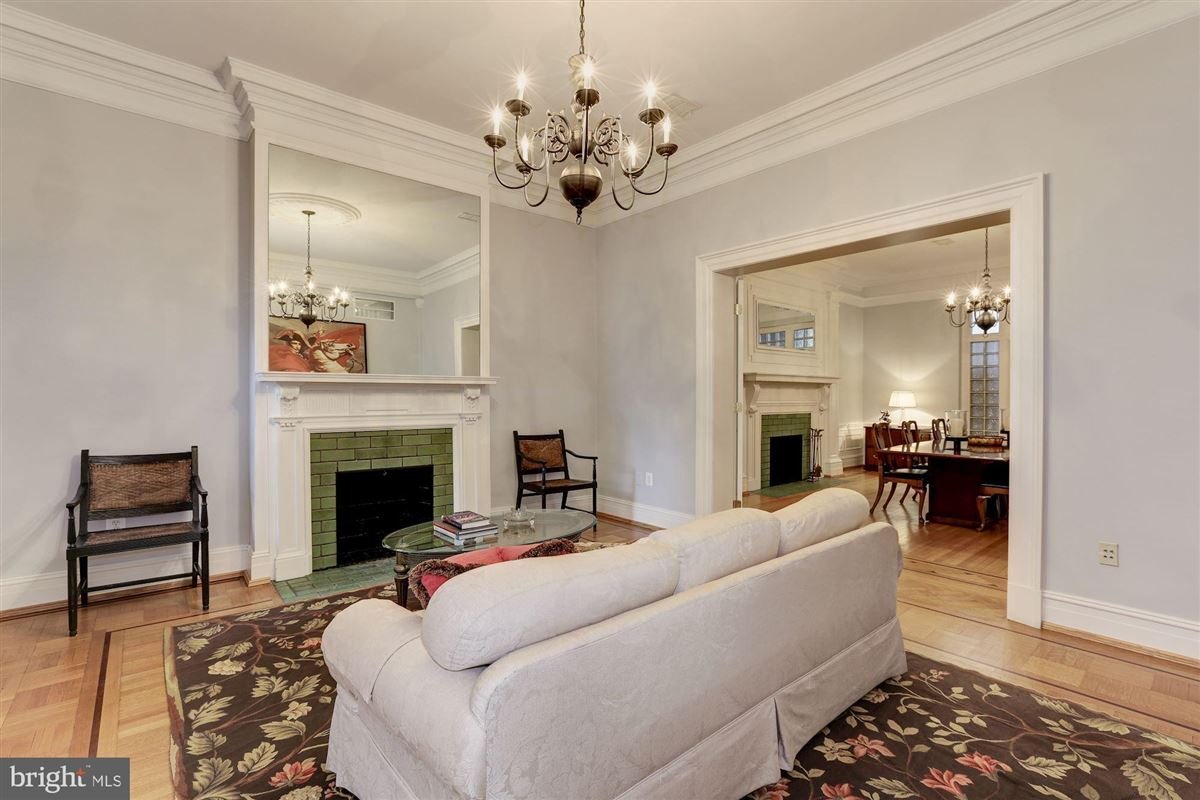 thoughtfully renovated 1906 Kalorama home luxury properties