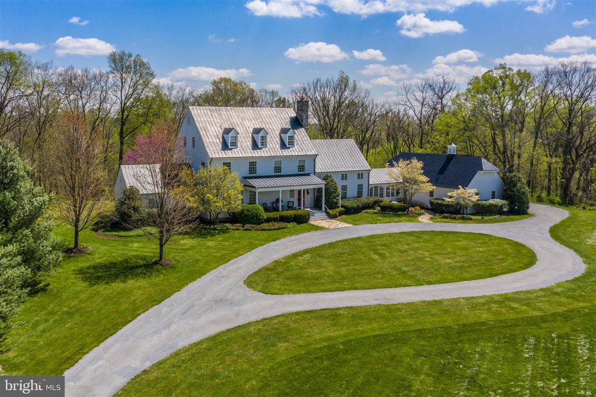 Luxury properties stunning 36-acre haven on the potomac river