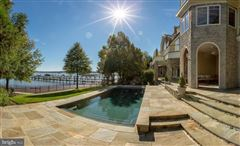 Comfortable Opulence on the Potomac River mansions