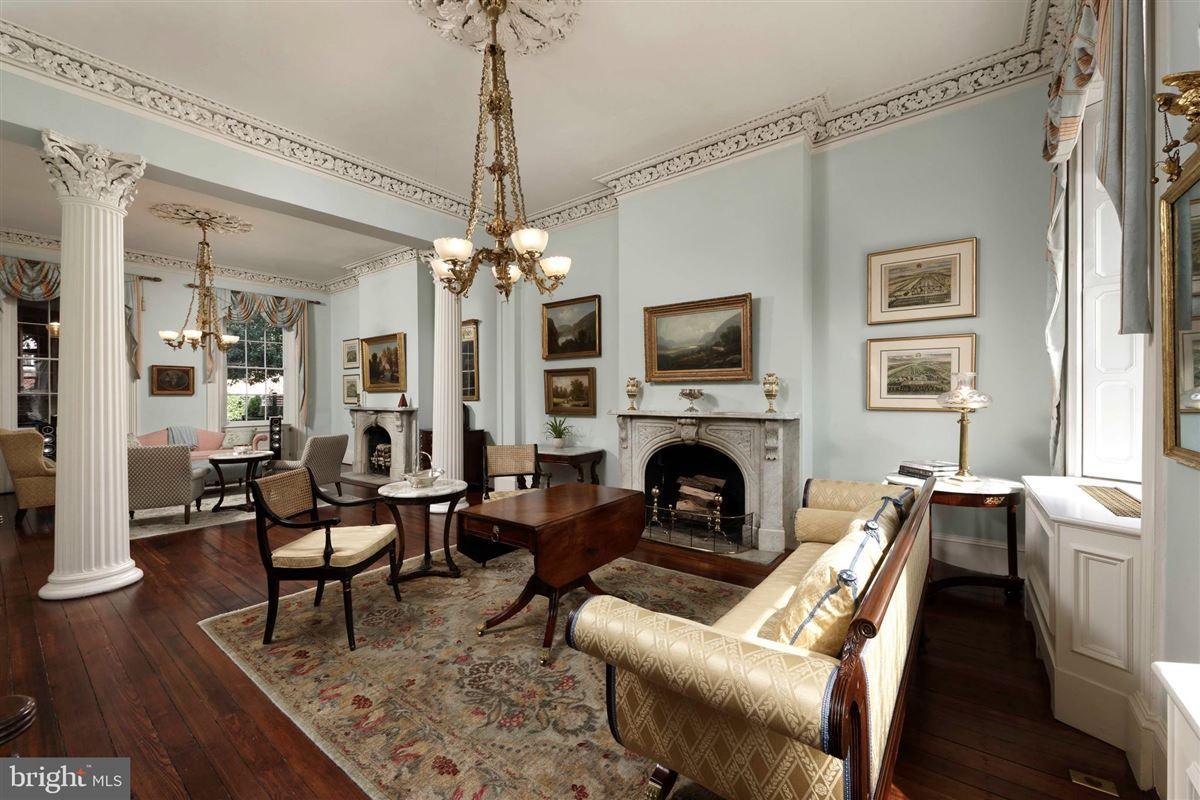 Luxury homes distinctive circa 1835 home