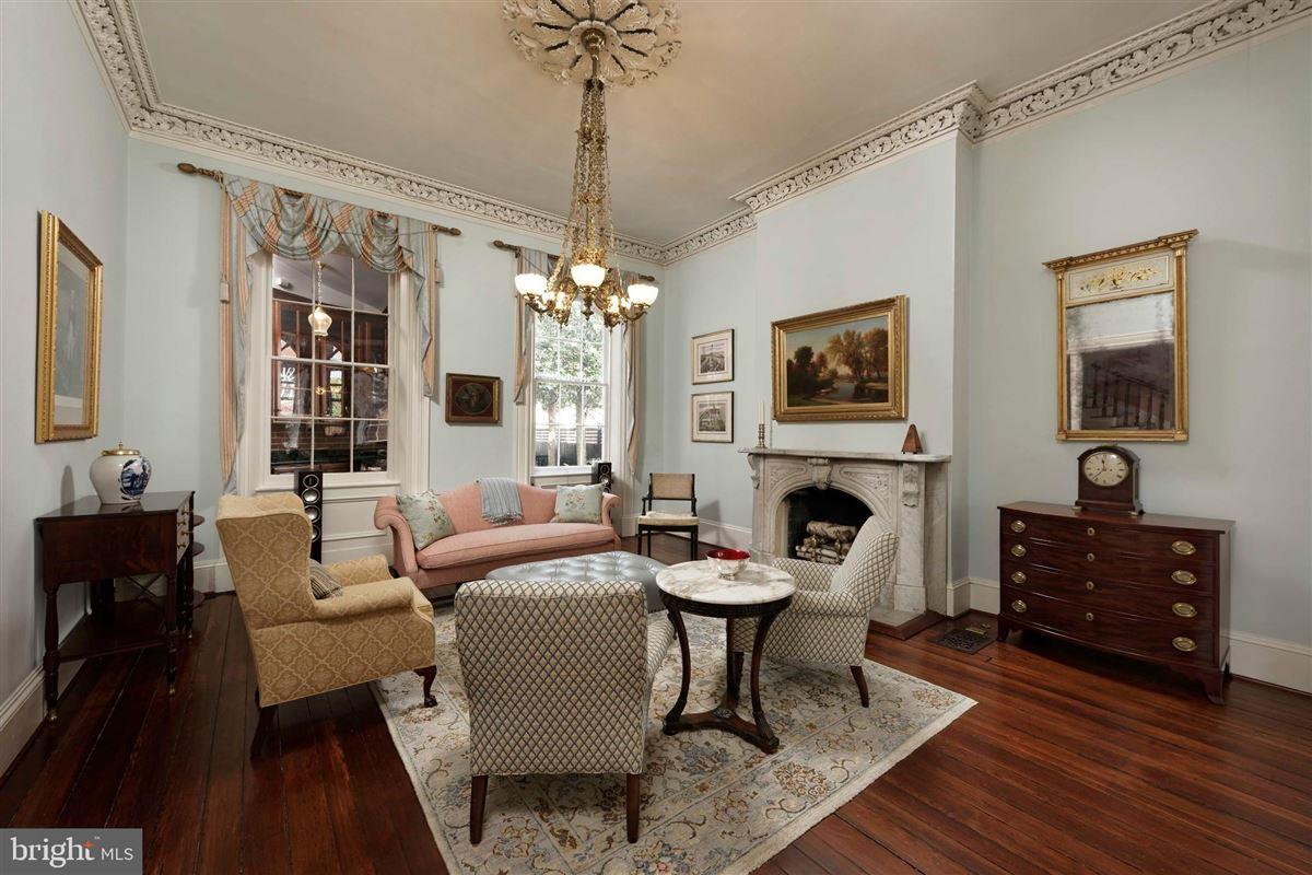 Luxury real estate distinctive circa 1835 home