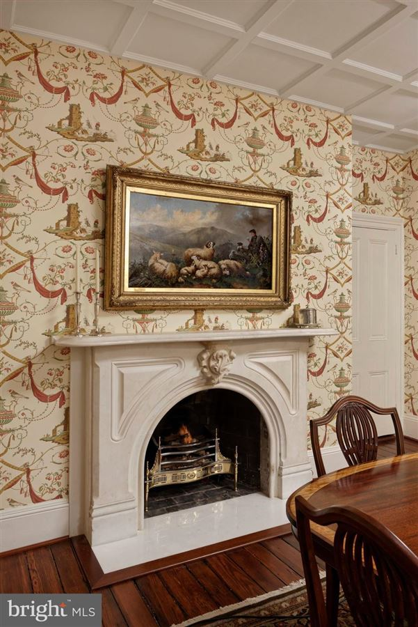 Mansions in distinctive circa 1835 home