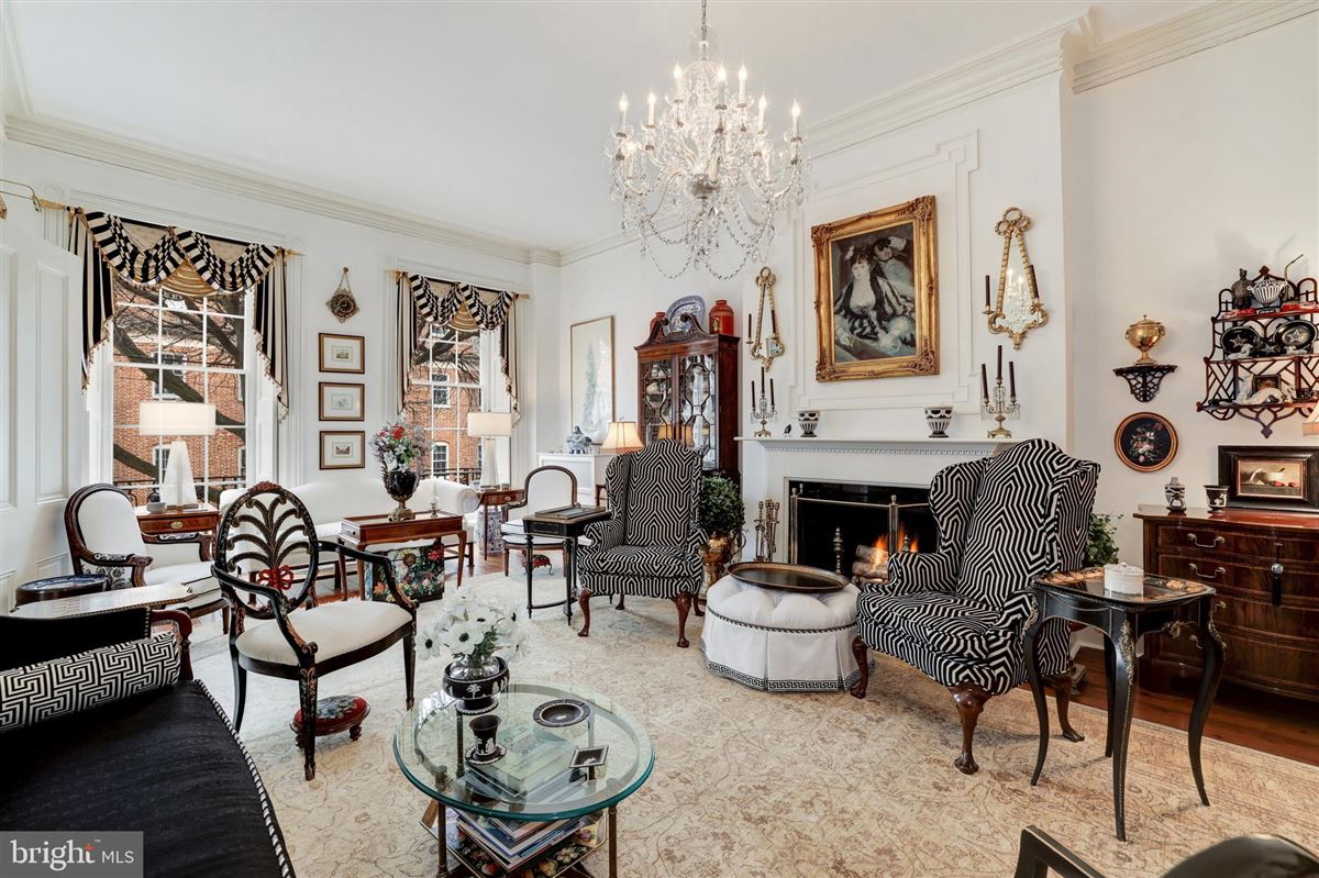 iconic celebrated townhouse mansions