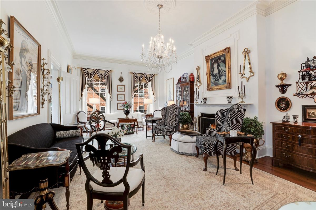 Luxury homes in iconic celebrated townhouse