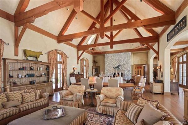 breathtaking Country French Chateau  luxury homes