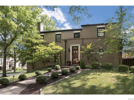 Luxury homes exceptional two-story Clayton Gardens home