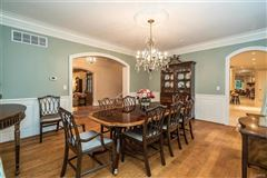 expanded and renovated french manor sytle home luxury real estate