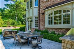 expanded and renovated french manor sytle home luxury homes