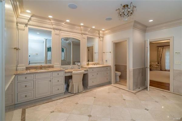 Mansions expanded and renovated french manor sytle home
