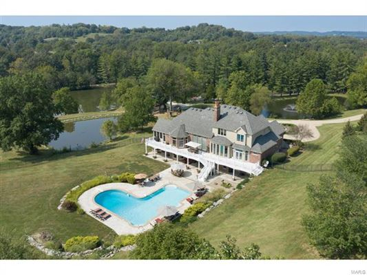 Mansions custom home on 147 acres