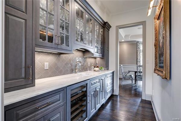 Luxury real estate an artistic composition of refined finishes and materials
