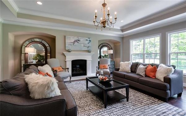 Luxury homes New Construction centrally located property