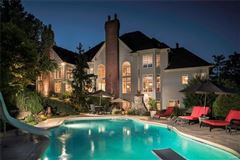 majestic residence on a pastoral acre-plus luxury homes