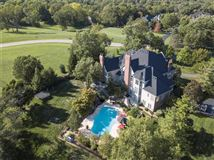 Luxury homes majestic residence on a pastoral acre-plus