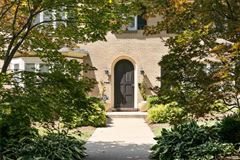 classically beautiful center hall home mansions