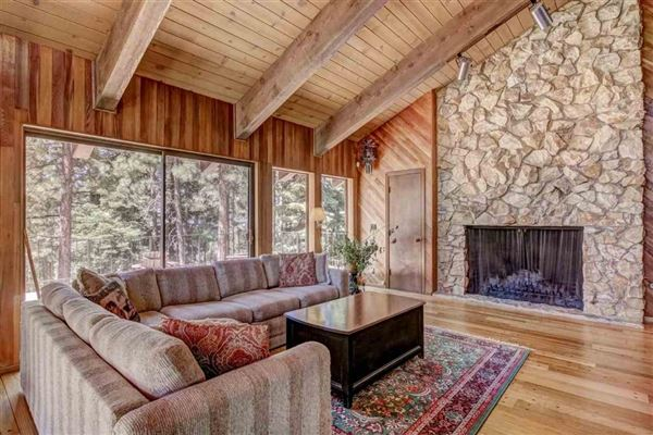 Luxury real estate classic mountain home