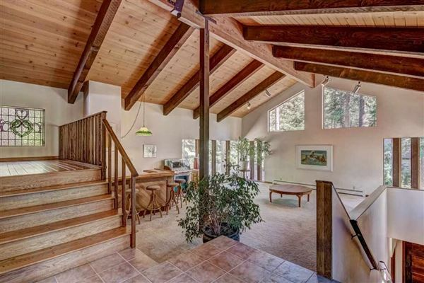 Luxury properties classic mountain home