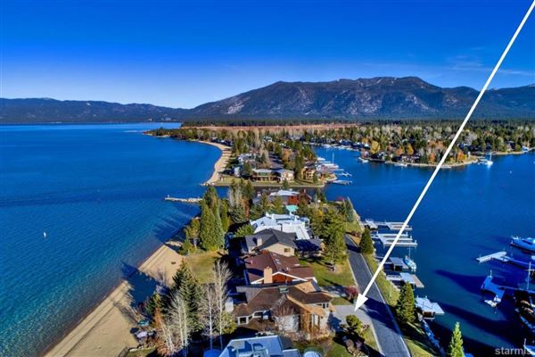 Luxury properties Lighthouse Shores in Tahoe Keys