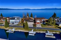 Luxury real estate Lighthouse Shores in Tahoe Keys