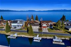 A rare lakefront work of art luxury homes