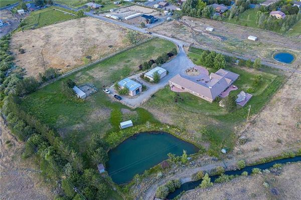 Single-level living with nine bedrooms on over five acres luxury real estate
