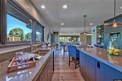 Mountain Contemporary with wide water views luxury properties
