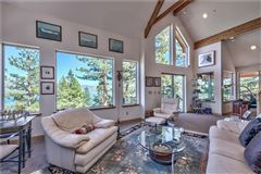 Luxury homes in Great Lake View home in crystal bay
