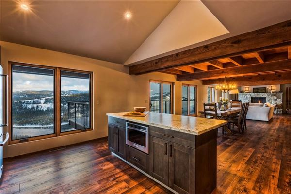 Luxury real estate newly-remodeled, mountain modern residence