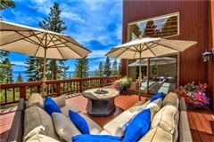 Luxury homes in Lake Tahoe estate