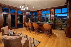 stunning mansion overlooking the Truckee River  luxury properties