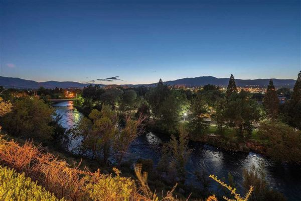 Luxury real estate stunning mansion overlooking the Truckee River