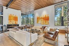 Mansions in private gated Clear Creek Tahoe community