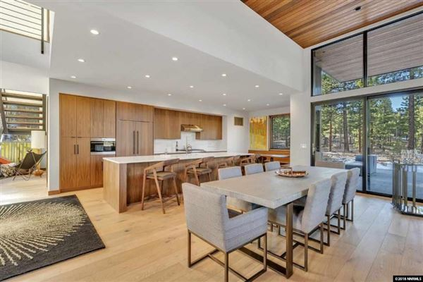Luxury homes private gated Clear Creek Tahoe community