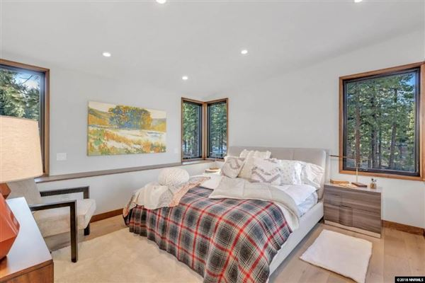 Luxury homes in private gated Clear Creek Tahoe community
